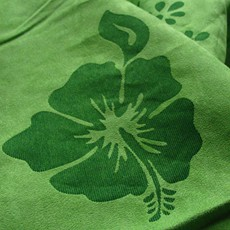Textile finishing by laser engraving